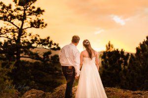 Katelyn and Wesleys Wedding Sunset